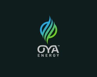 OYA能源公司标志设计