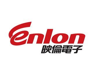 映伦电子标志logo设计