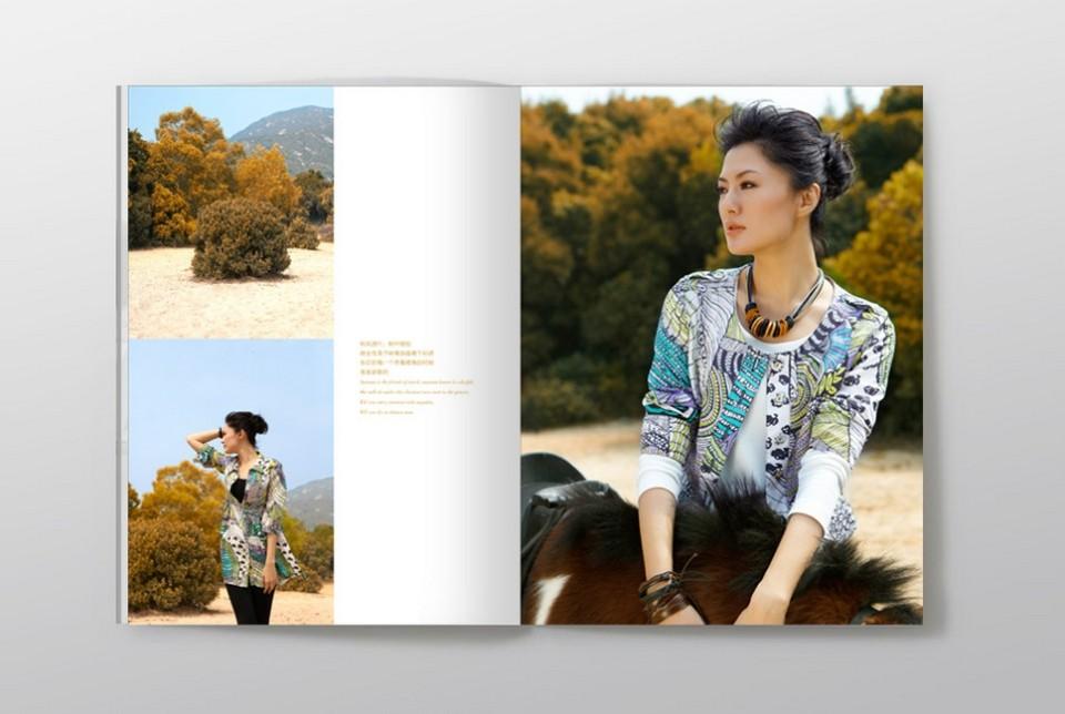 宣传服装画册设计欣赏