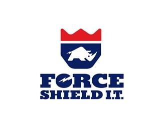 力盾标志设计