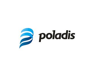 蓝色标识Poladis