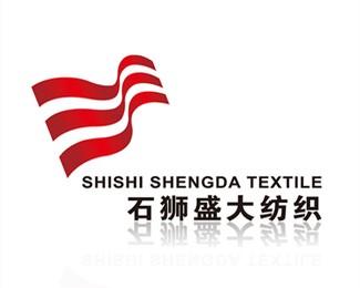白沙盛大纺织标志设计
