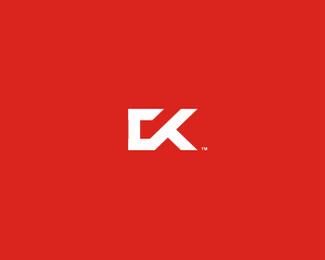 CK字母标志