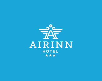 青岛Airinn酒店标志