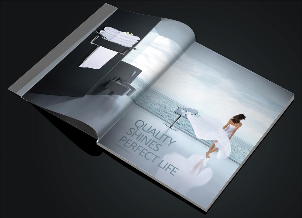 画册设计中文字设计遵守四条原则,可读性,个性,美感,创造性