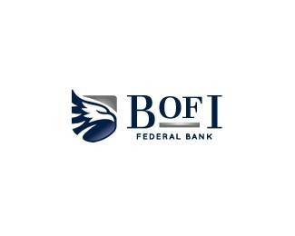 美国某网上银行标志设计欣赏
