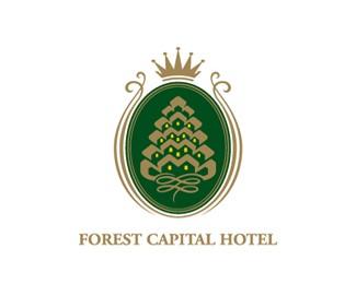 林都宾馆标志设计