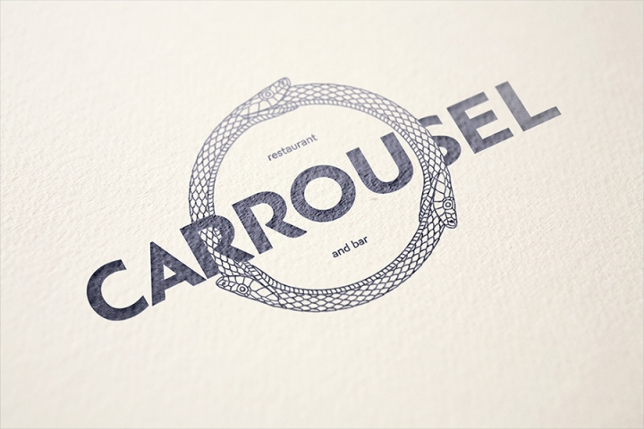 莫斯科餐厅vi设计欣赏CARROUSEL