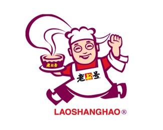 快乐的厨师卡通形象标志