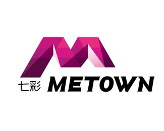 华夏地产METOWN标志