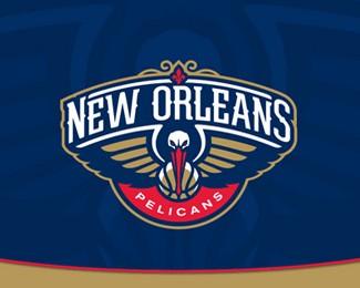 新奥尔良鹈鹕队标志设计