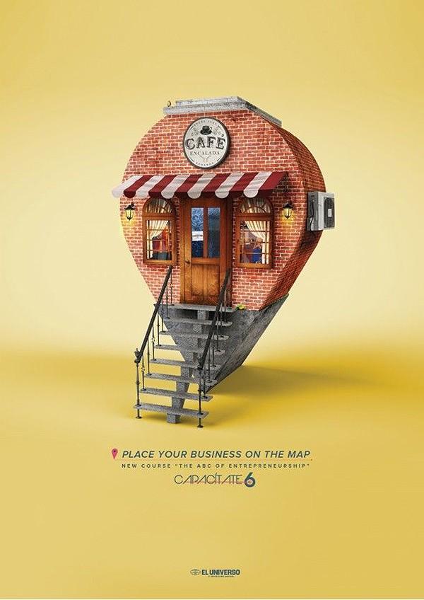 广告海报设计案例学得技巧,制作有效的宣传海报