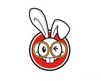 卡卡兔儿童主题游乐园logo设计