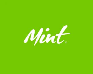 国外运动鞋品牌字体设计Mint