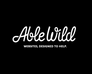 Able Wild字体标志设计