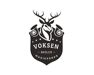 艺术学校商标VoksenSkoles