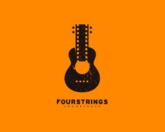 原声音响品牌标志FourStrings