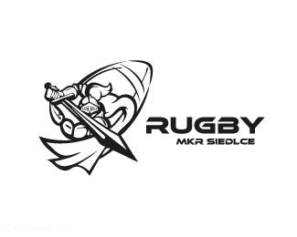 骑士橄榄球俱乐部logo