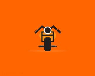摩托车行业图标