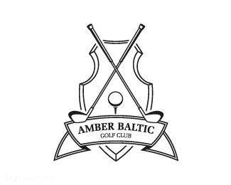 波罗的海琥珀高尔夫球俱乐部标志